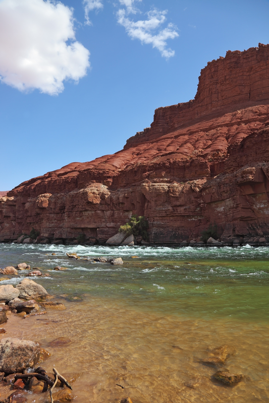 The Colorado River in Utah