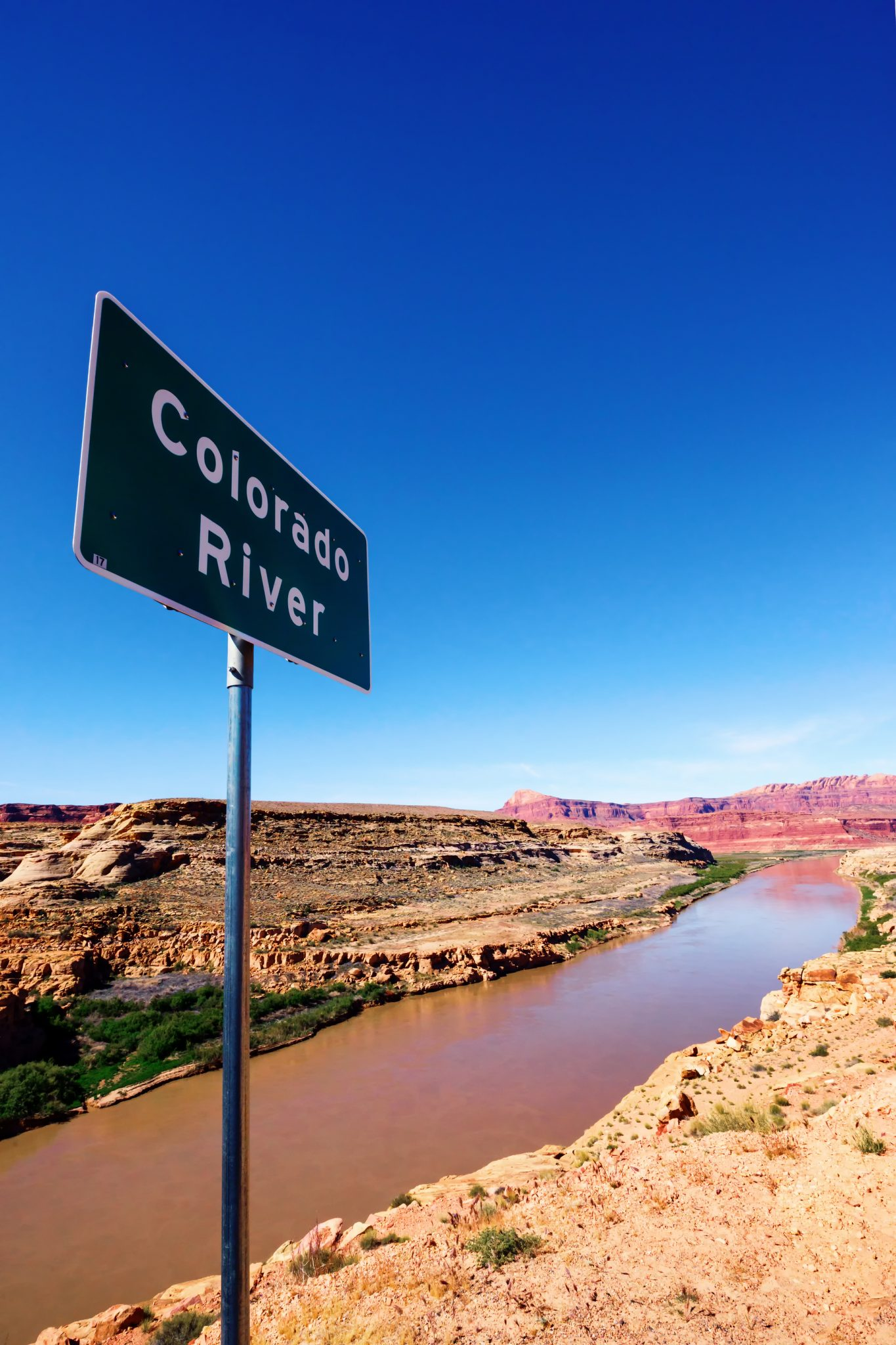Colorado River Sign