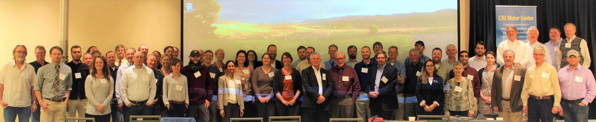 Participants from 2016 Subsurface Water Storage Symposium