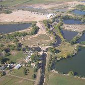 Poudre River Aerial View - resized