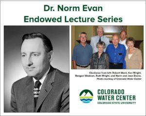 Dr. Norm Evans Lecture Series