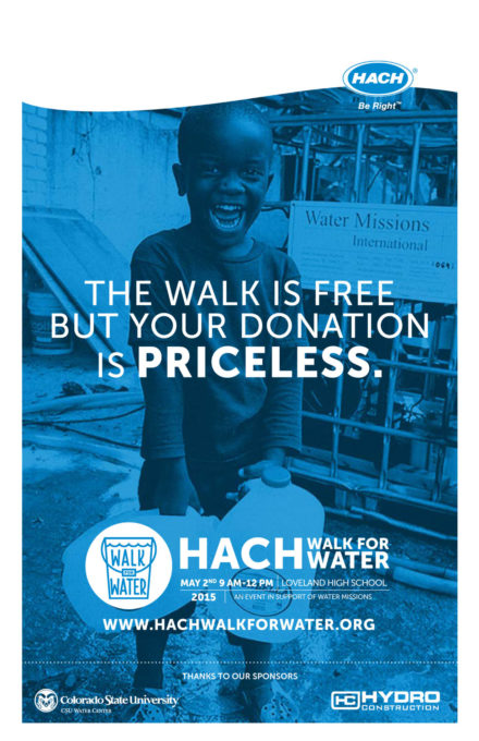 2015 Hach Walk for Water