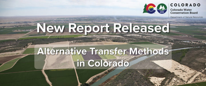 New Report Released: Alternative Transfer Methods in Colorado